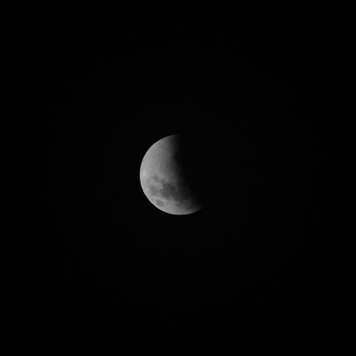 Supermoon Total Eclipse